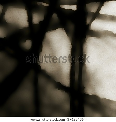 Mystical tree. Abstract branches background. #376234354