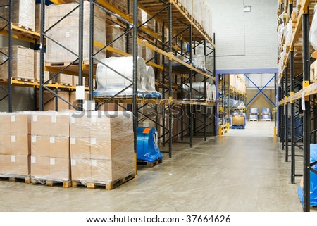 Industrial Warehouse #37664626