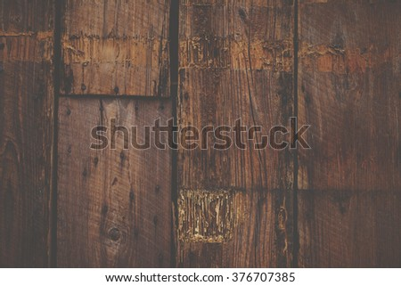 Matte hipster wood wall background texture close-up