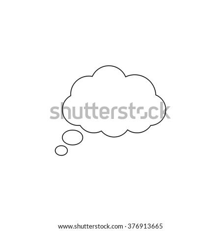 cloud  - vector icon #376913665
