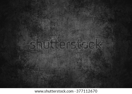 black scratched metal texture or rough pattern iron background Royalty-Free Stock Photo #377112670
