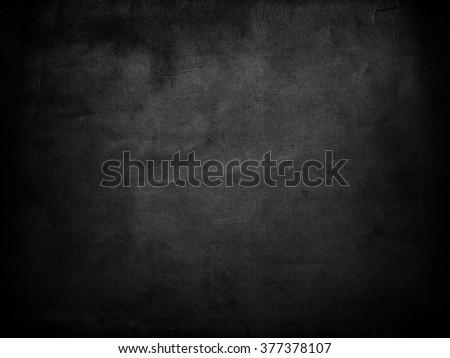 Black background. Grunge texture. Chalkboard #377378107