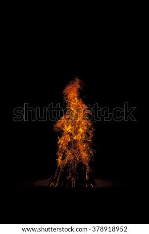 Fire flames #378918952