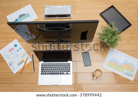 Office table #378999442