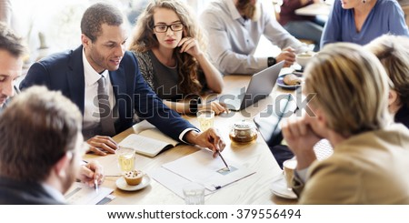 Business Corporate Management Planning Team Concept #379556494