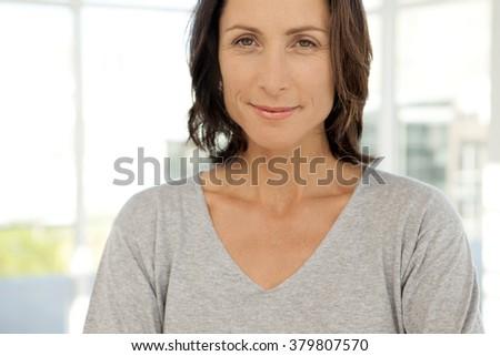 Gorgeous modern middle-aged woman - portrait #379807570