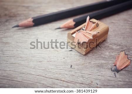 pencil sharpener Royalty-Free Stock Photo #381439129