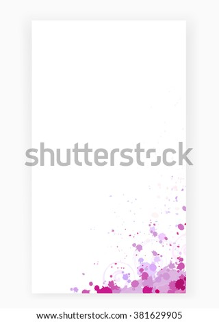 art pink abstract grunge background. template for beauty or artistic album