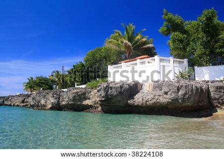 Terrace on ocean coast #38224108