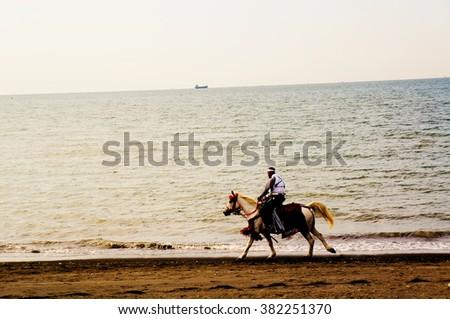 samurai horse riding,Tateyama,Japan #382251370