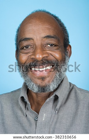 Portrait of a senior adult man #382310656