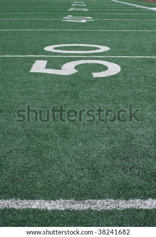 American Football Yard lines carrying off #38241682