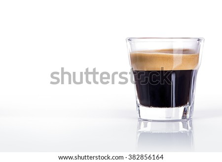 Cup of espresso coffee #382856164
