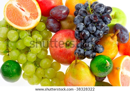 Still-life of fresh fruit #38328322