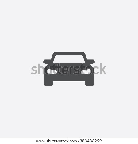 Vector car Icon Royalty-Free Stock Photo #383436259