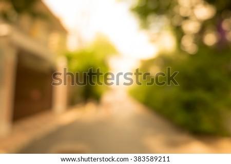 blur city park bokeh background #383589211