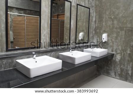 sink in toilet #383993692