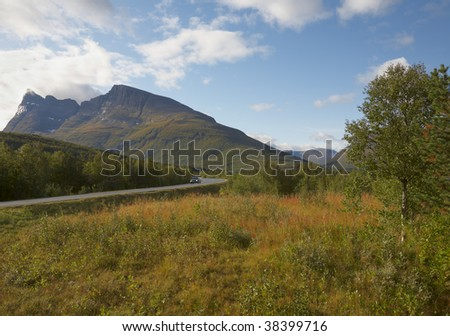 road in the mountains #38399716