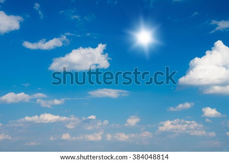 blue sky background with white clouds #384048814