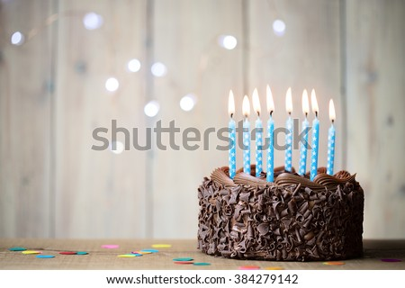 Birthday cake Royalty-Free Stock Photo #384279142