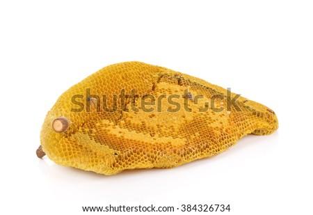 honeycomb isolated on white background #384326734