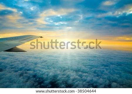 Mid air dawning #38504644