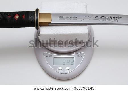 Tanto : Japanese short sword #385796143