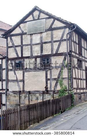 Tudor style house in Franconia #385800814