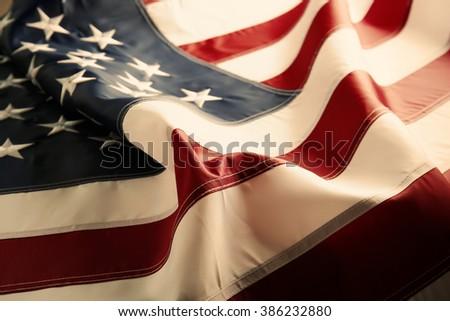 American flag background #386232880