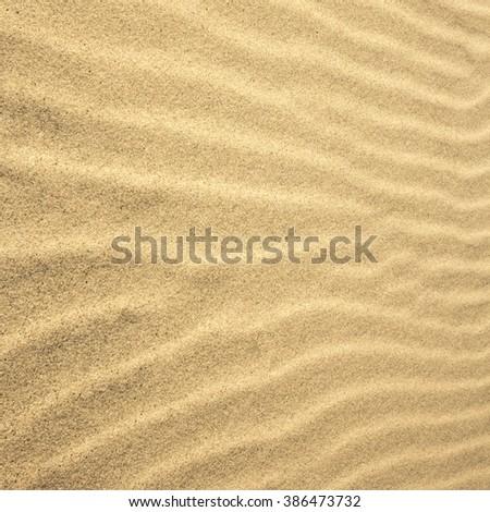 Macro Photo Of Sand Texture. #386473732