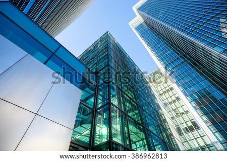 Skyscraper Office business building London #386962813