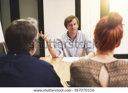 Talking about the business strategy #387070156
