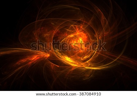Abstract fractal light background #387084910