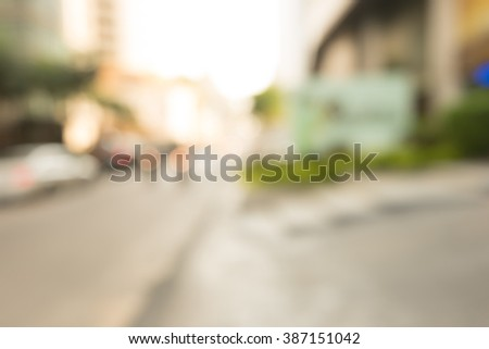 BLUR OFFICE BACKGROUND office tower #387151042