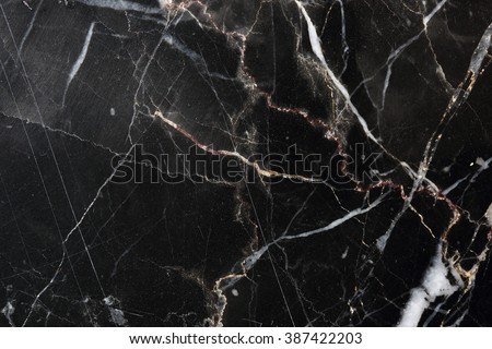 Black marble patterned for background, texture and design. #387422203