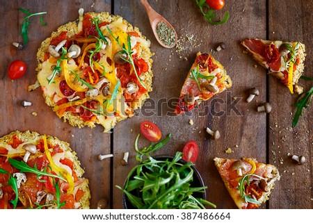 pizza  Royalty-Free Stock Photo #387486664