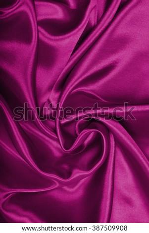 Smooth elegant burgundy silk or satin can use as background  #387509908