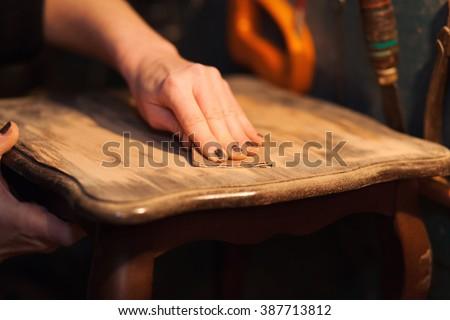 furniture restoration #387713812