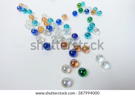 marble ball and White more space background #387994000