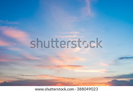 sunset sky background  #388049023