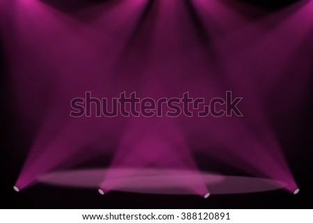 Pink and Purple stage theater background  #388120891