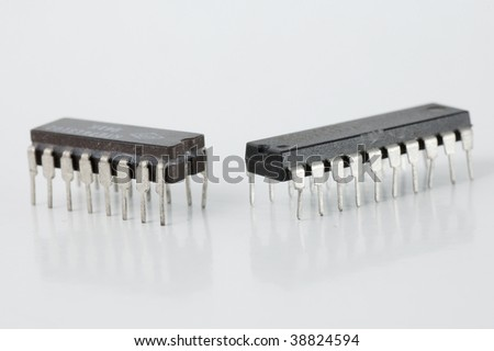 Integrated circuit microchip #38824594