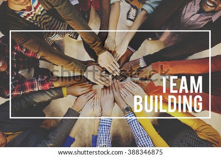 Team Building Collaboration Business Unity Group Concept #388346875
