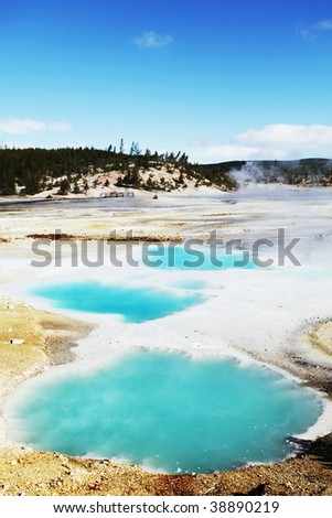 Yellowstone formation #38890219