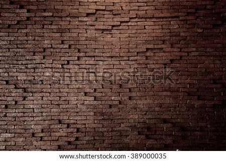 Old bricks wall for background. #389000035