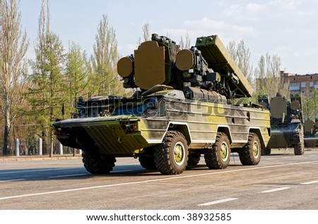 """Anti-aircraft missile system """"Osa"""" #38932585"""