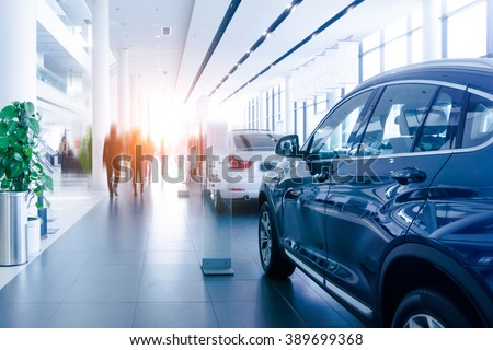 Car sales, market place, Royalty-Free Stock Photo #389699368