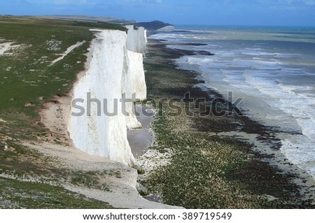 Boundary / Seven sisters cliff #389719549