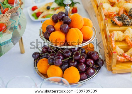Catering Food fryit #389789509