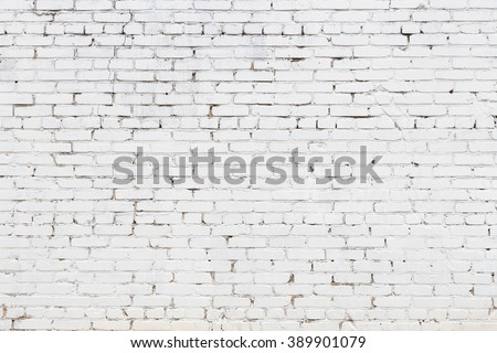White brick wall texture background #389901079